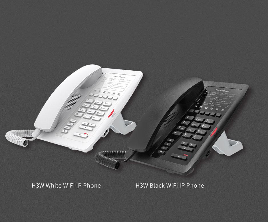 Điện thoại bàn wifi fanvil H3W -