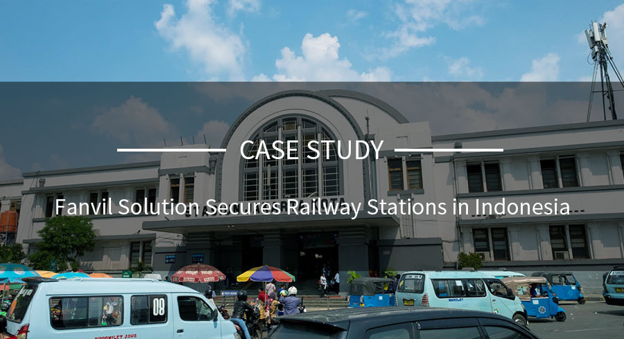 Fanvil Solution Secures Railway Stations in Indonesia