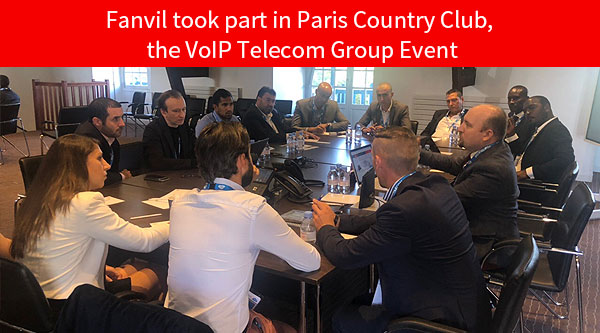 Fanvil took part in Paris Country Club, the VoIP Telecom Group Event